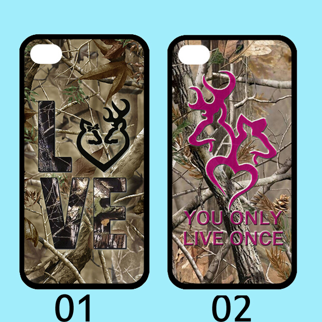 Camo Browning Buck Love iphone case